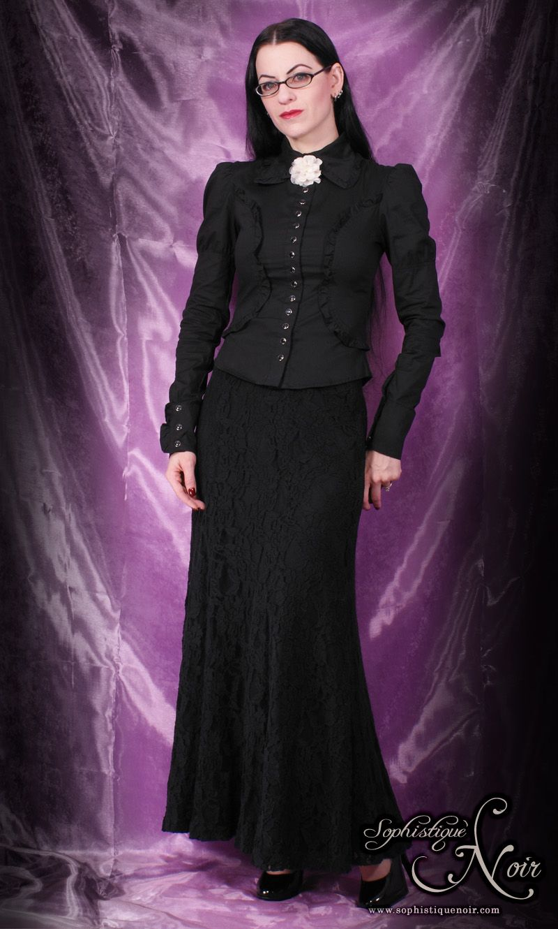 Dressing Goth at Work (and Not Getting Fired) | Sophistique Noir ...