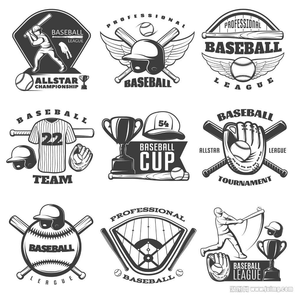 棒球logo Google 搜尋 Sports logo design, Baseball