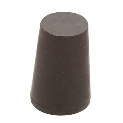 Crown Bolt 1 2 In X 5 16 In Black Rubber Stopper 15948 The Home Depot Rubber Stoppers Black Rubber Bottle Stoppers
