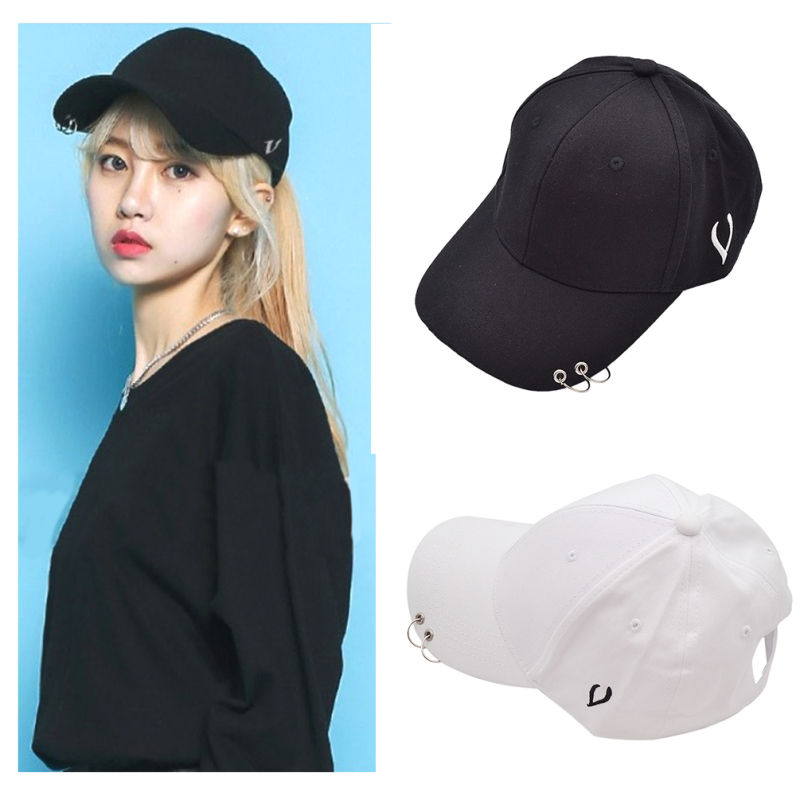 Exo Sehun Kai Baseball Cap Exact Double Piercing Hat Lucky One Kpop Hip Hop Gift Hip Hop Gifts Hip Hop Hat Hat Fashion