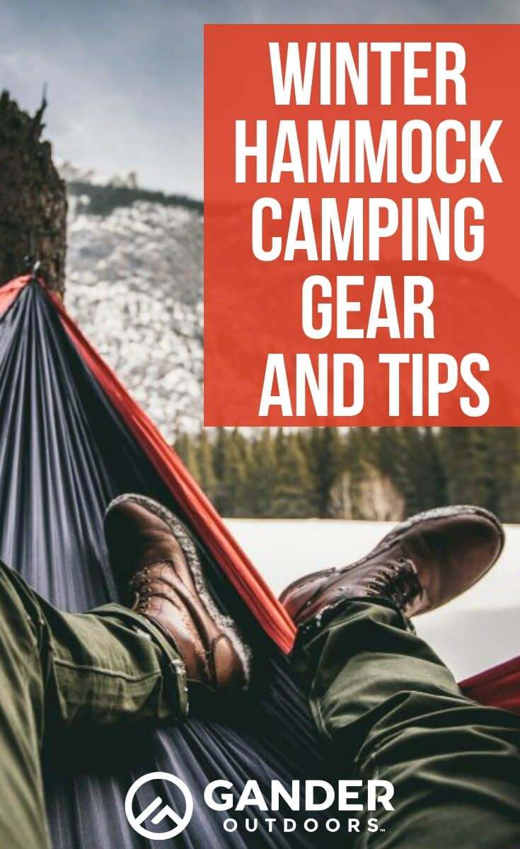 Photo of Winter Hammock Camping Gear and Tips