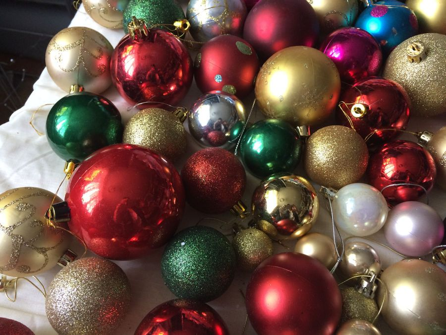 99pcs Vintage Red Gold Baubles Hanging Christmas Decorations Ornaments Job Lot Christmas Hanging Decorations Christmas Decorations Ornaments Christmas Decorations