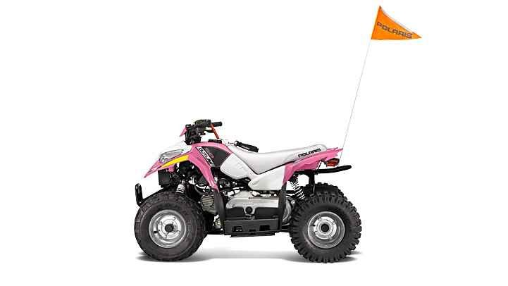 New 2016 Polaris Outlaw® 50 ATVs For Sale in Michigan. For riders 6 years old and older with adult supervision Includes safety flag, helmet and instructional DVD Parent-adjustable speed limiter