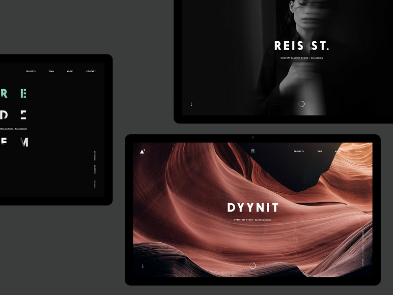 ▲7 desktop #3 by Diana Dubina - Dribbble