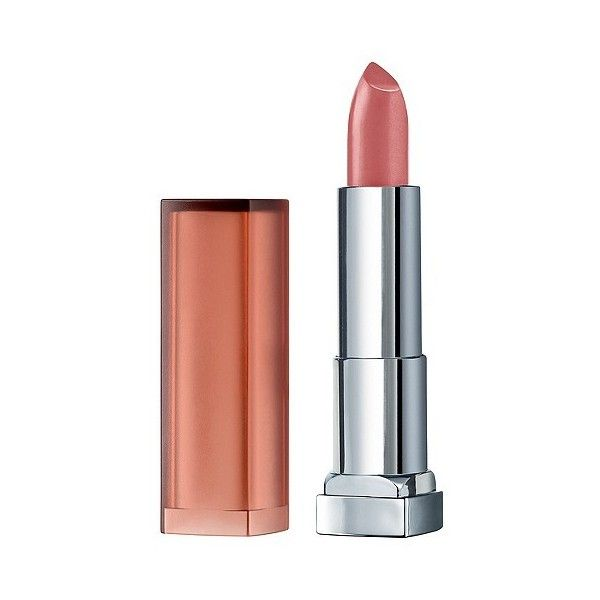 Maybelline Color Sensational Inti-Matte Nudes Lipcolor  Honey Pink . (46 SEK) ❤ liked on Polyvore featuring beauty products, makeup, lip makeup, lipstick, maybelline and maybelline lipstick