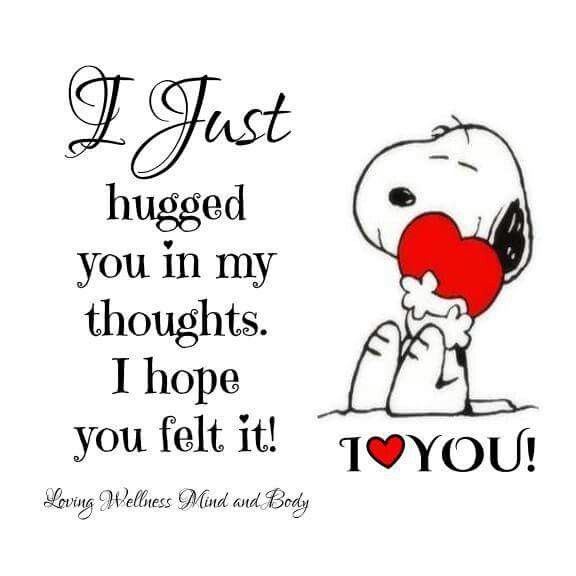 Miss you! | Hug quotes, Snoopy quotes, Birthday quotes for him