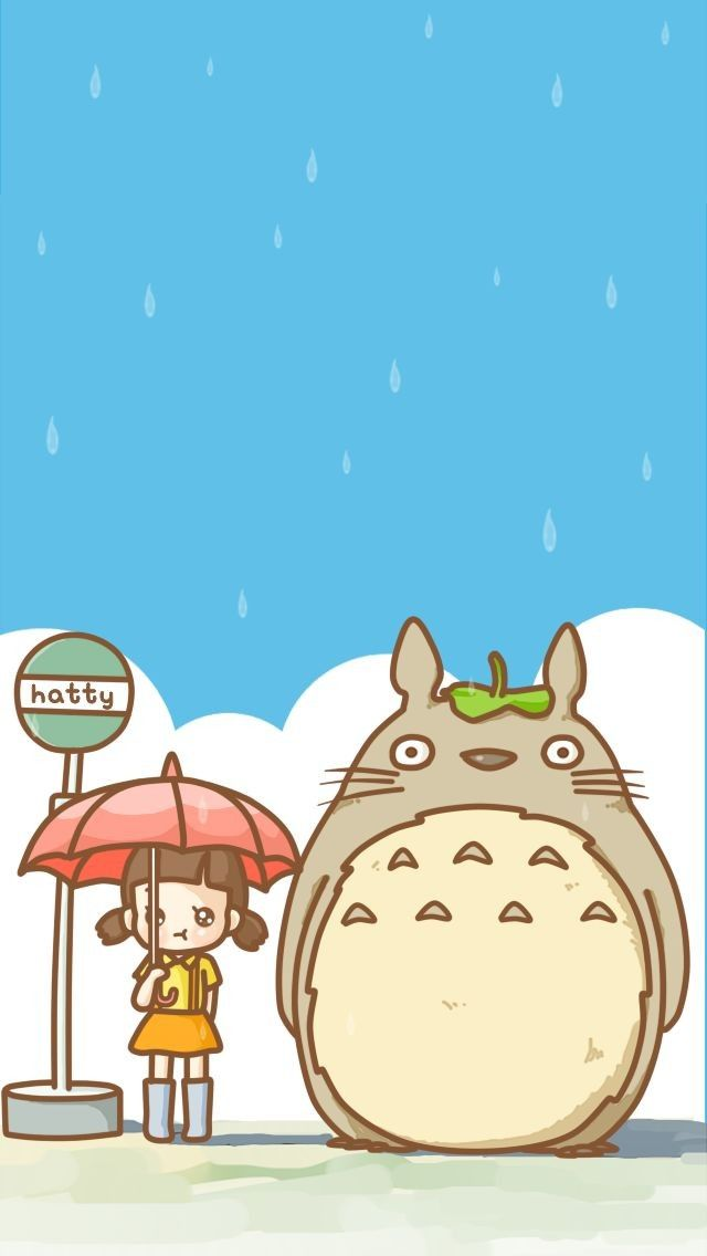 totoro wallpaper Wallpapers/Covers Pinterest Totoro