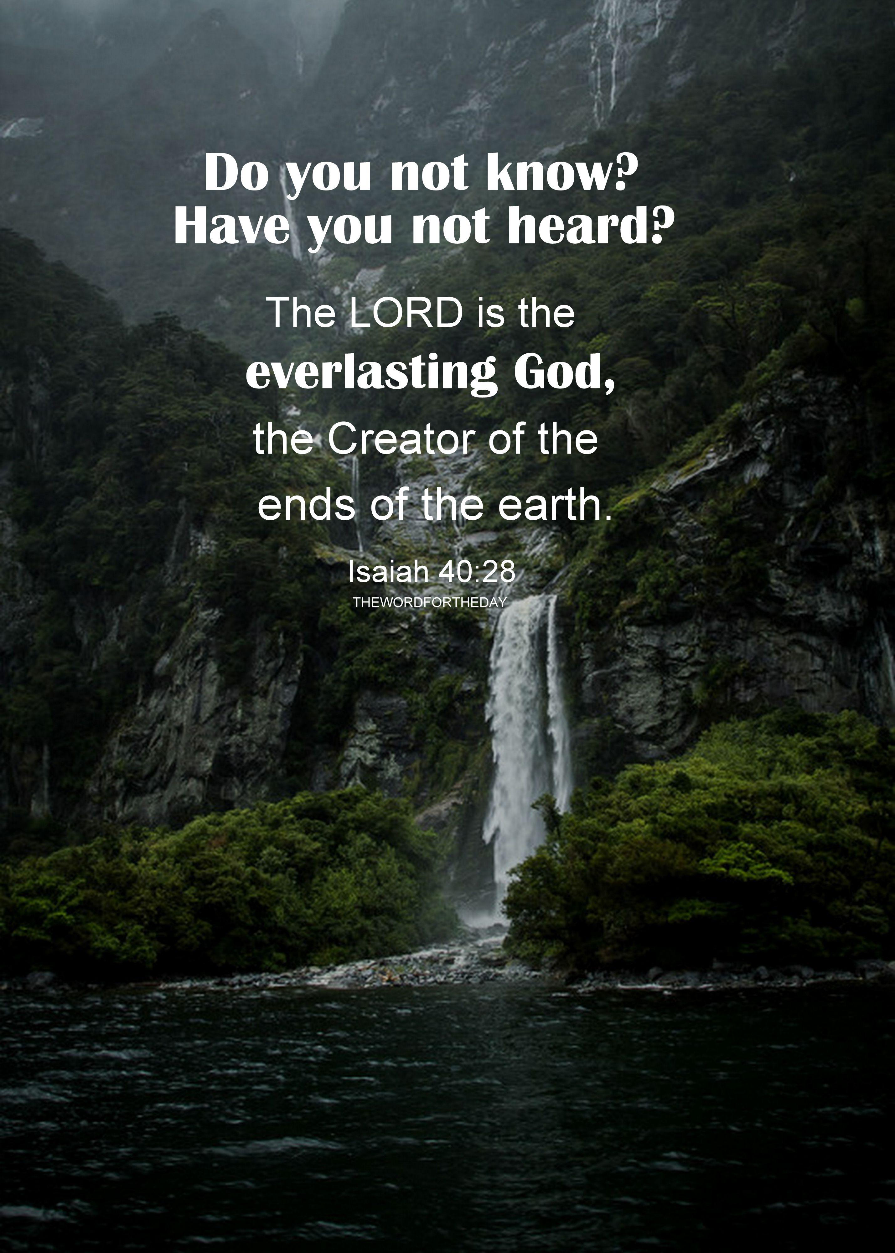 waterfall bible quotes bible verse nature god jesus christ