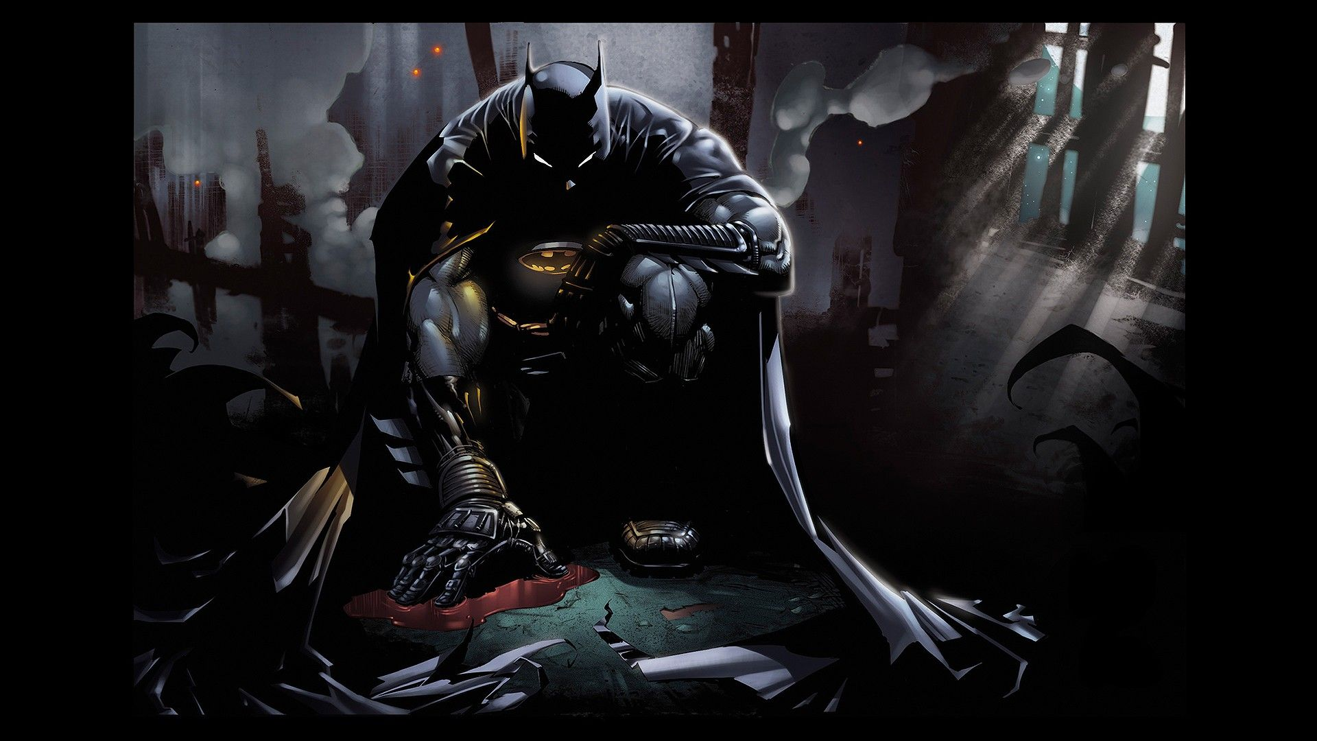 Batman DC Comics Bat Fan Art Wallpapers