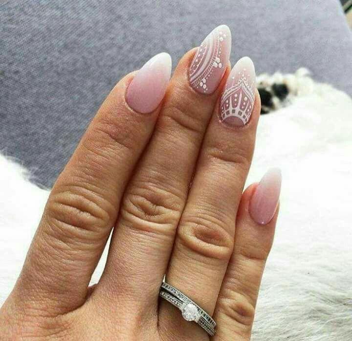 Degradado + blanco + rosa + detalles en blanco + mano alzada + mate ...