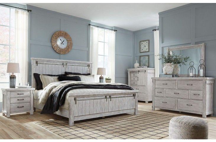 Best Brashland White Panel Bedroom Set White Panel Bedroom 640 x 480