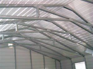 Steel Scissor Truss Blake Construction