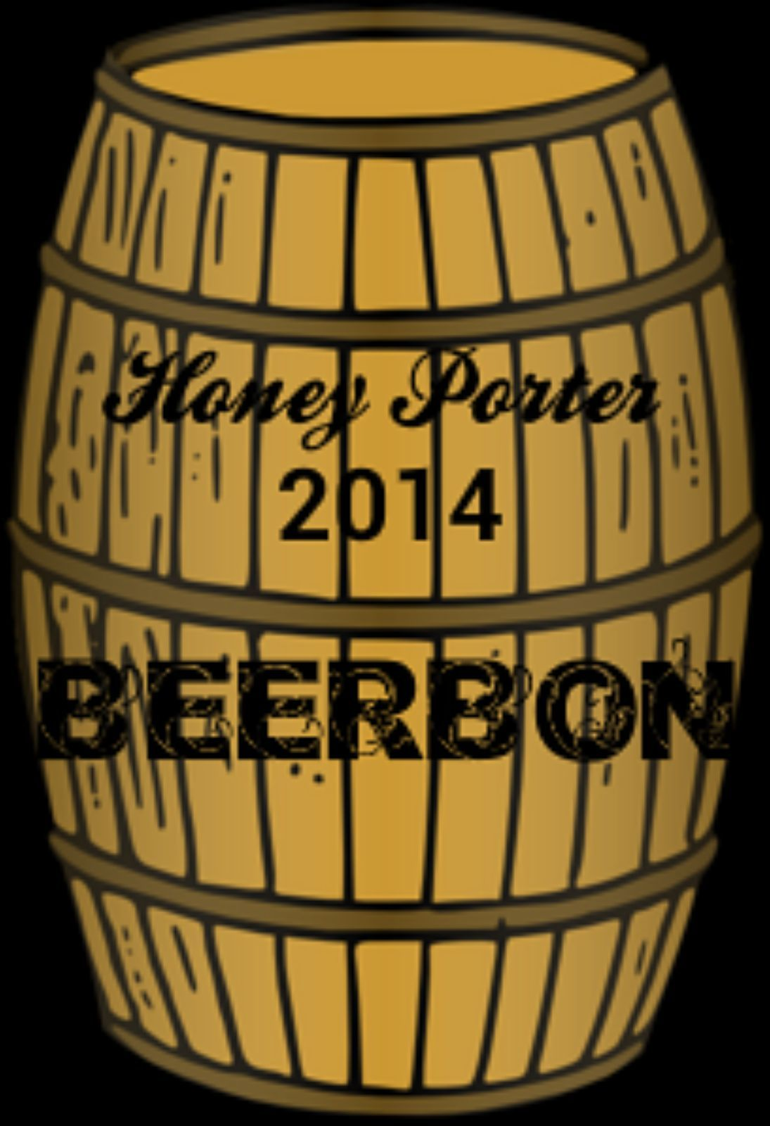 My Beerbon 2014 Porter Beer base with a shot of honey