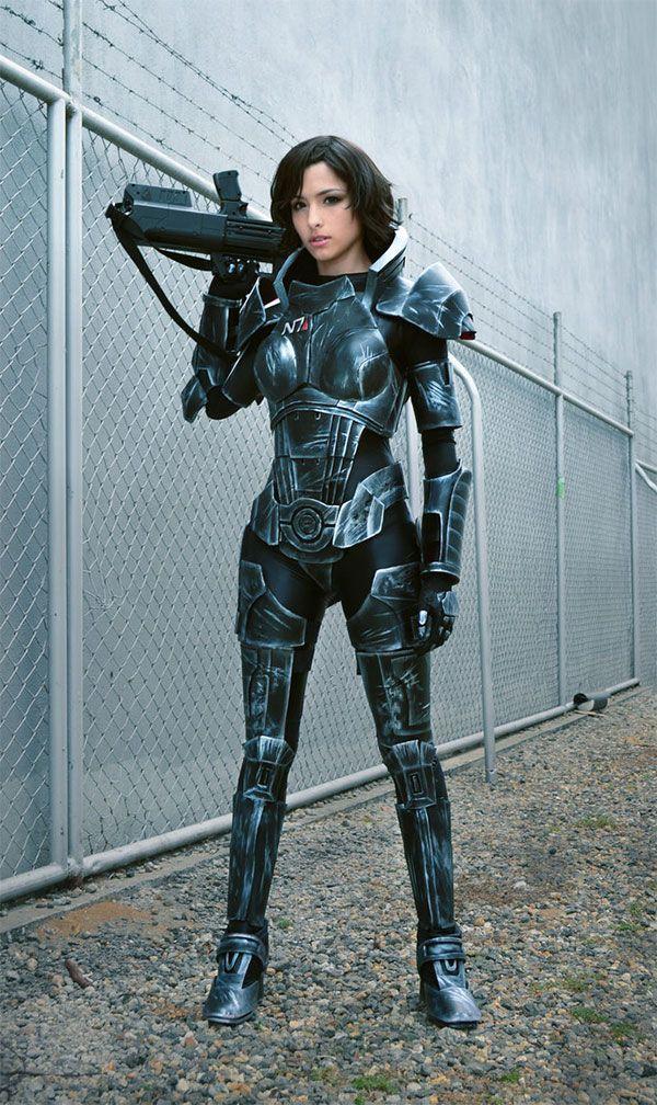 Stunning Mass Effect Female Shepard Cosplay By Angela
