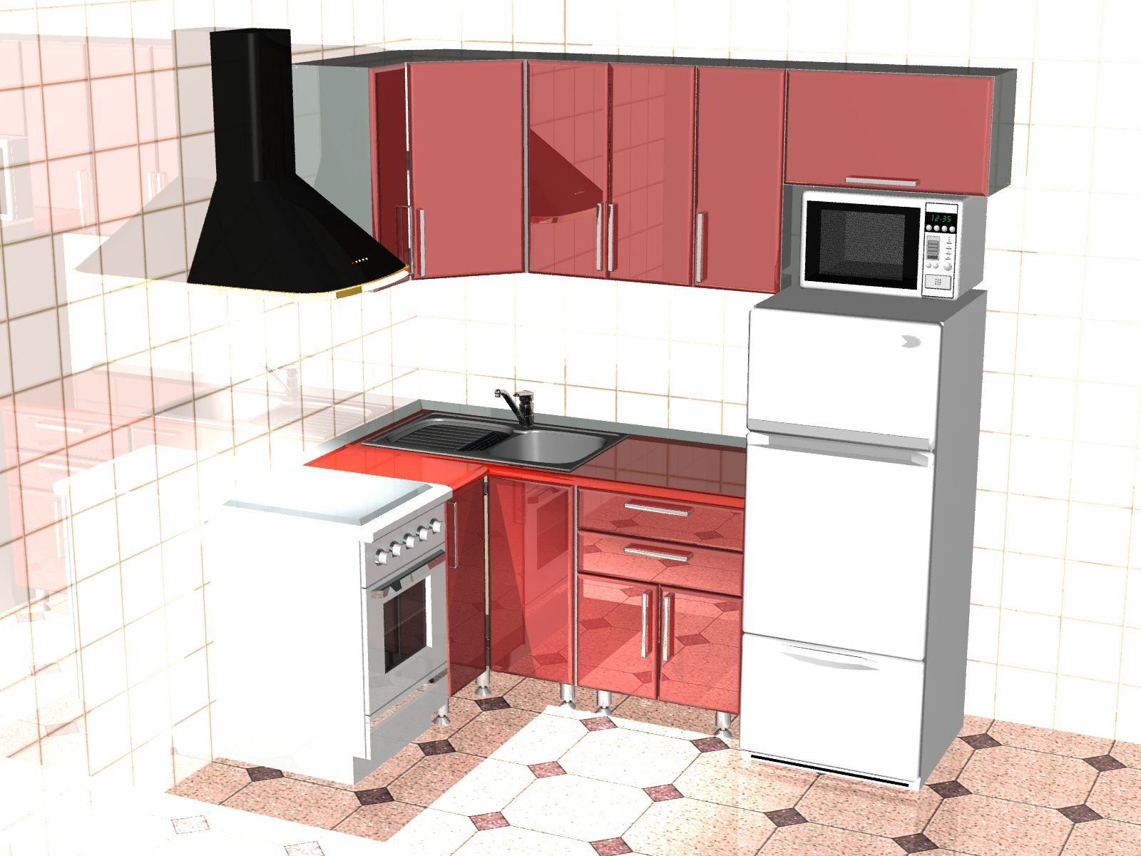 Кухни под заказ Kyxni pp