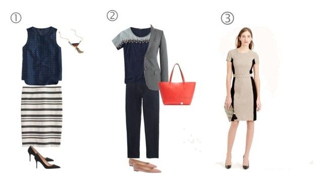 """""""work set"""" by eaf2014 ❤ liked on Polyvore featuring J.Crew, women's clothing, women, female, woman, misses and juniors"""
