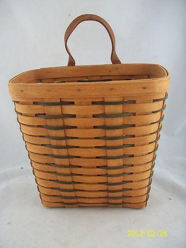 Longaberger Tall Key Basket  Liner ~ Traditional Holly