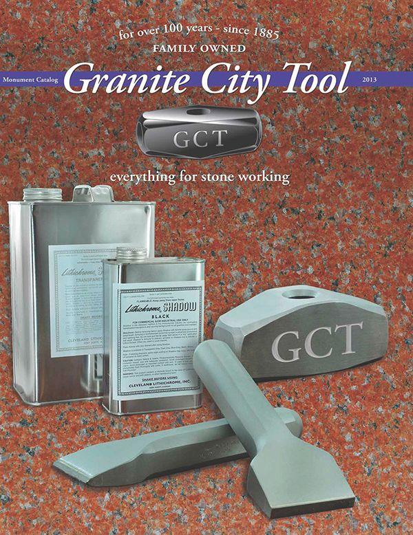 Granite City Tool Monument Catalog 2013 by Adam Wheeler, via Behance