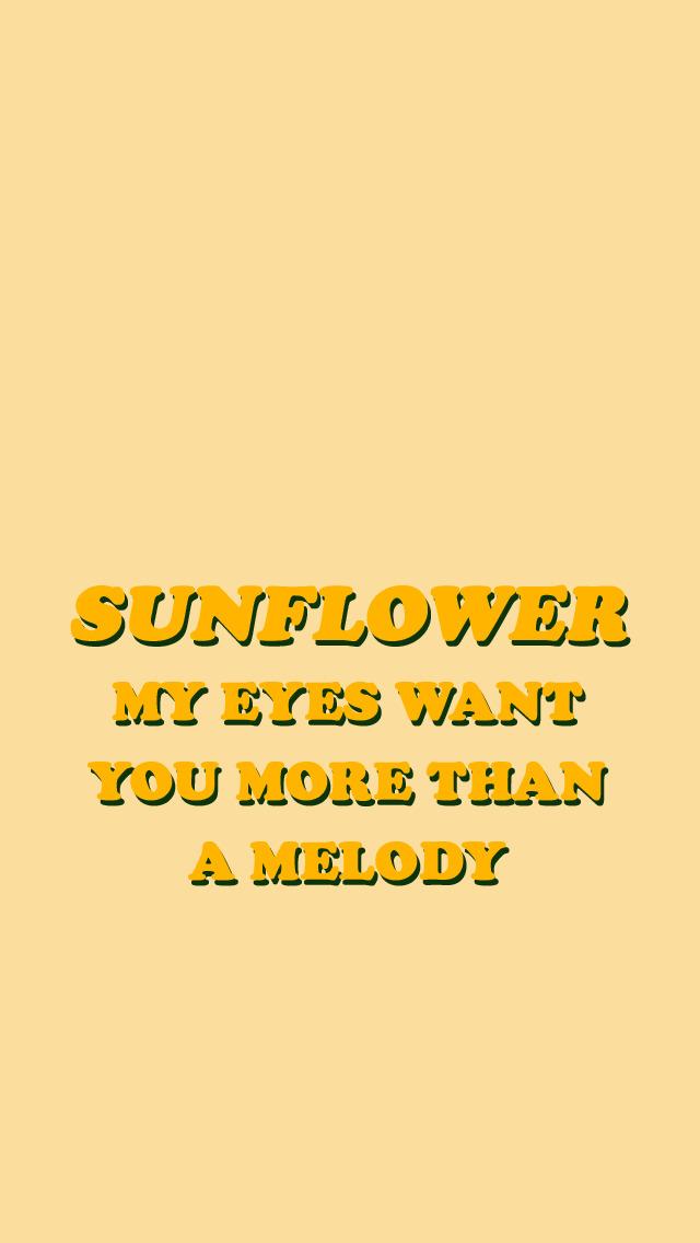 Sunflower Vol.6//Harry Styles ️️️