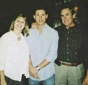 Jensen Ackles Family   Jensen Ackles with his family: Donna (mother