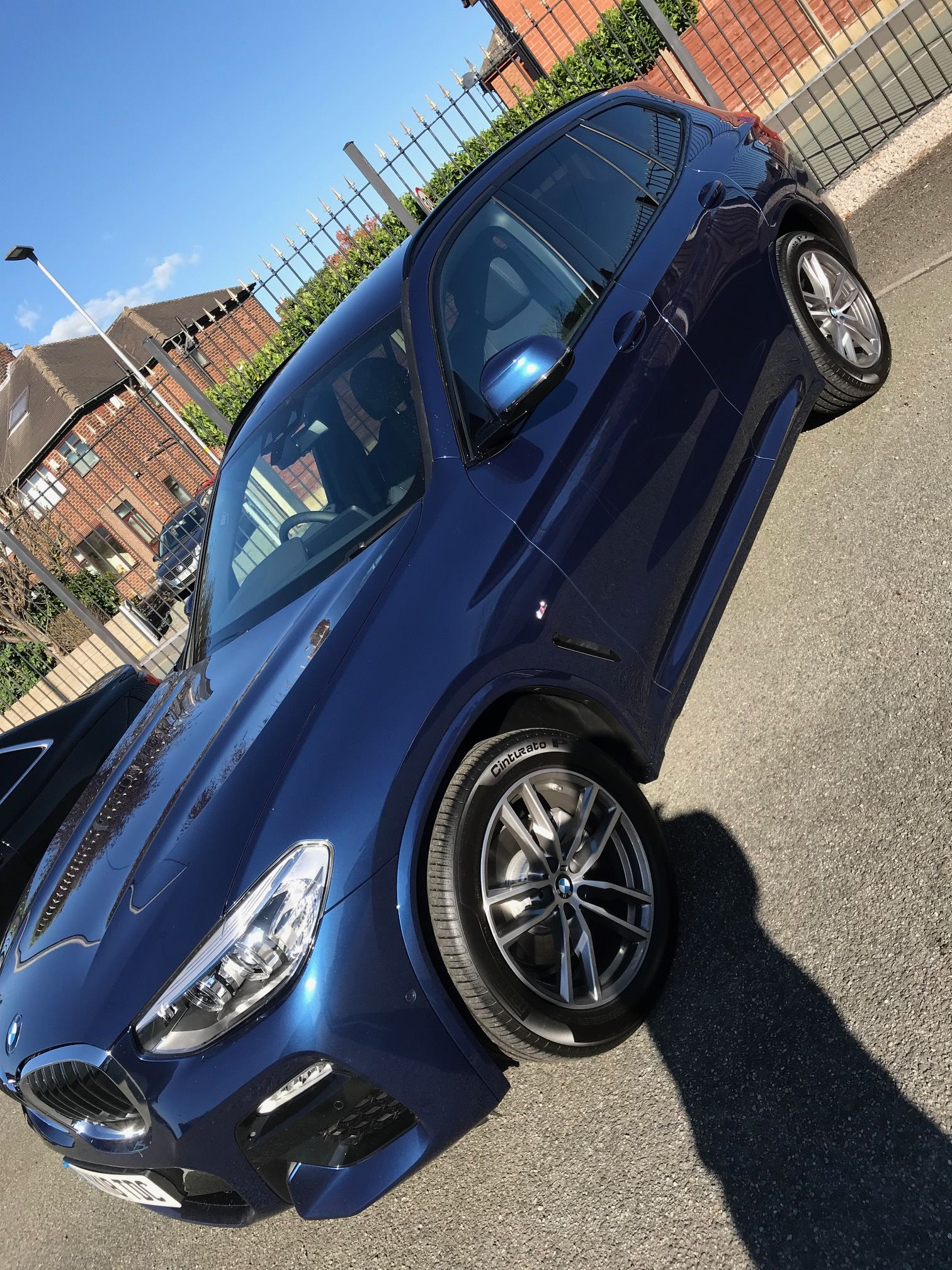The BMW X3 DIESEL ESTATE xDrive20d M Sport 5dr Step [Auto