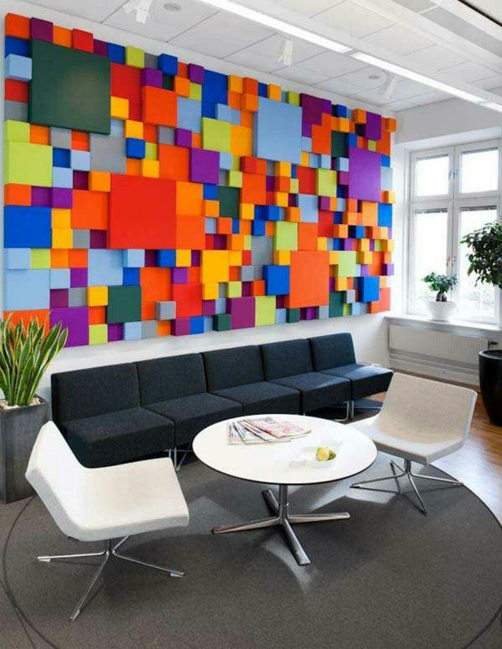 Moderne bürogestaltung  Pin von Кристина Данувас auf Colorful | Pinterest