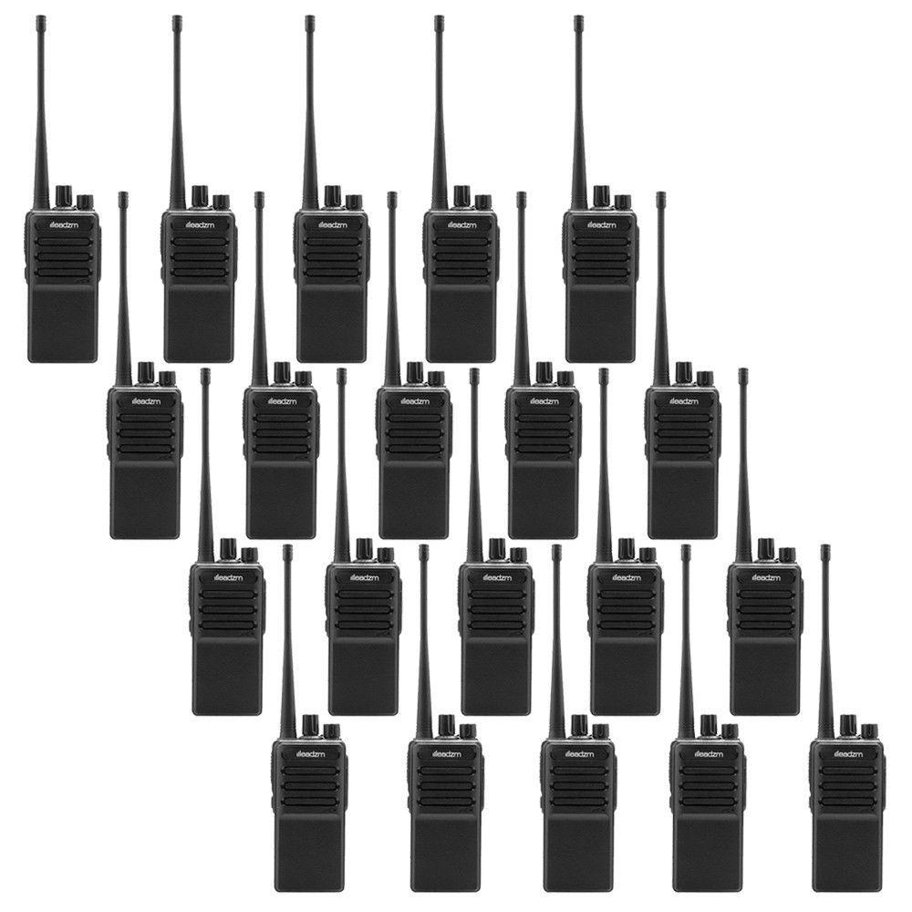BF-888S Earpiece LEADZM LE-C2 UHF 400-470MHz Two Way Ham Radio Walkie Talkie