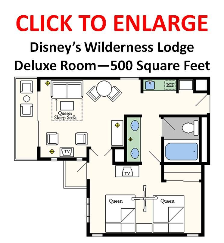 Floor Plans Of Walt Disney World Resort Hotels Disney Hotels Disney Wilderness Lodge Disney World Resorts