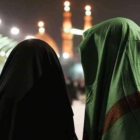 Muslim couple in Karbala Islamic couple