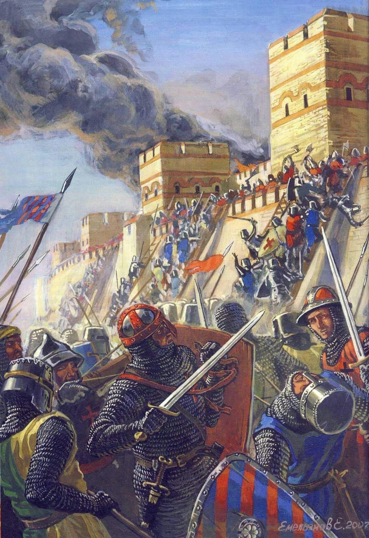 1204 The Fourth Crusade Against Constantinople
