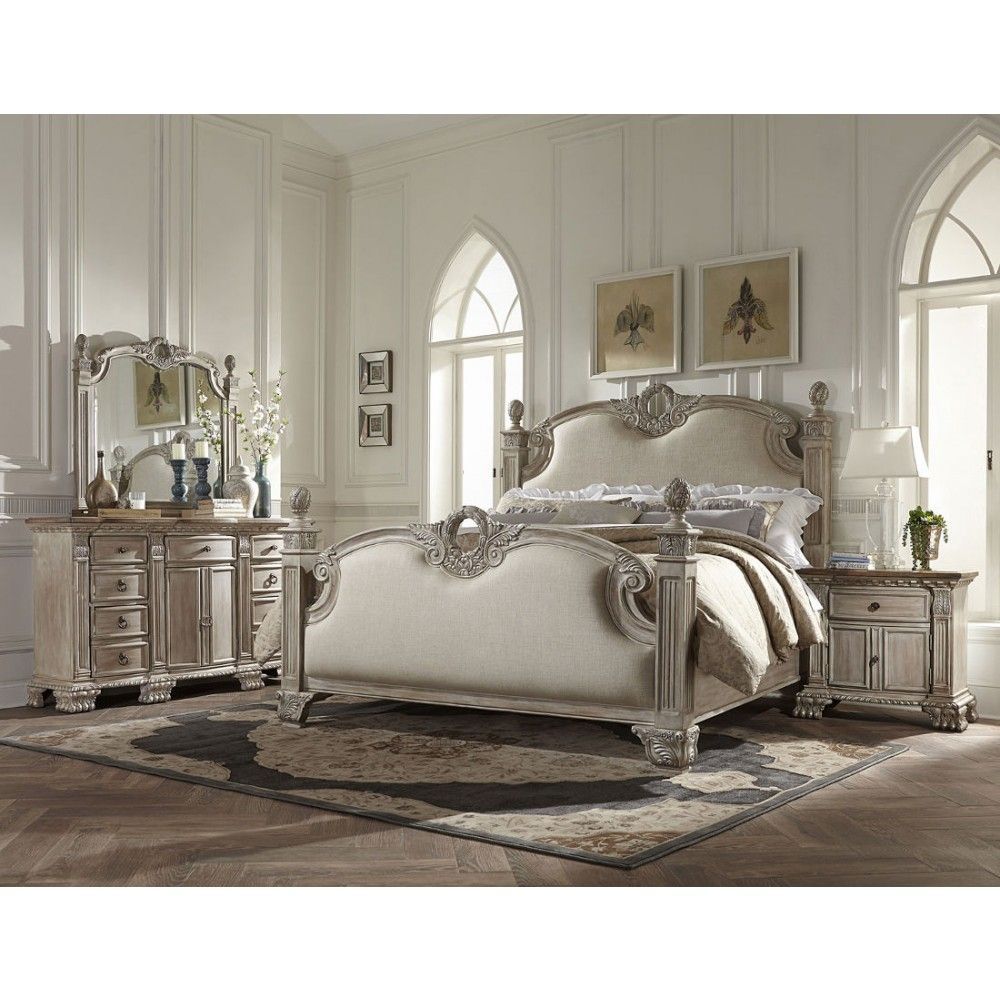 Homelegance Orleans II Bedroom Set in Weathered BrownFabulous