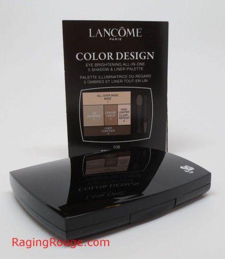 Lancome Color Design Eyeshadow Palette Eyeshadow Palette Color Design Lancome