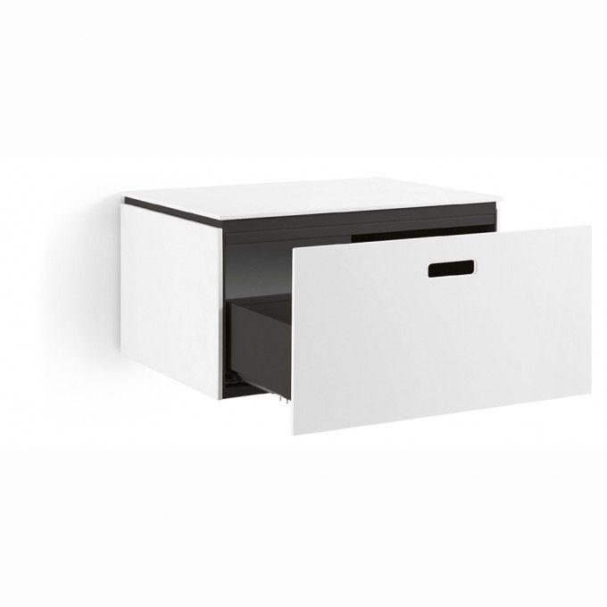 Lineabeta #Ciacole Hängeschublade und Halter für #Waschbecken - badezimmer accessoires holz