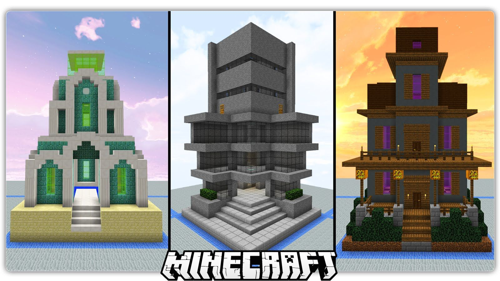 40 Chunk Sized Minecraft Buildings With Images Minecraft