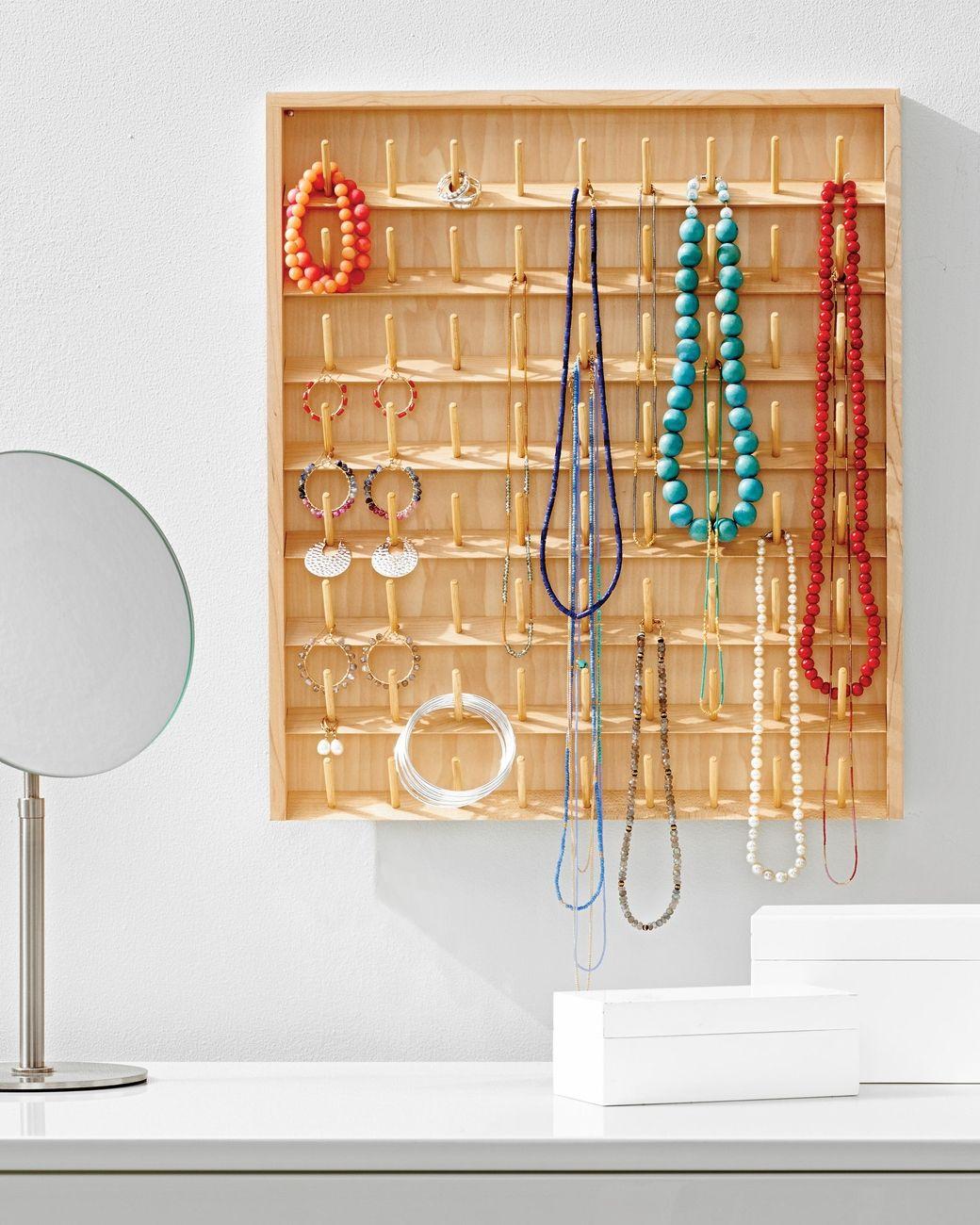 DIY Jewelry Organizers 13 Ways to Untangle Your Necklaces