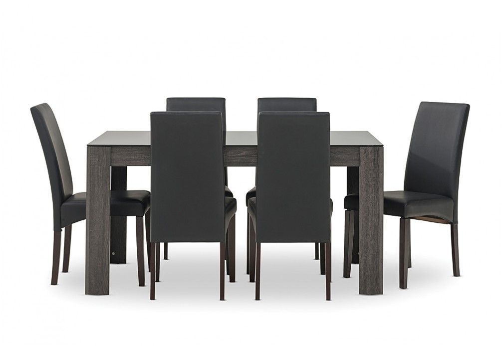 Summit 7 Piece Dining Suite Super Amart