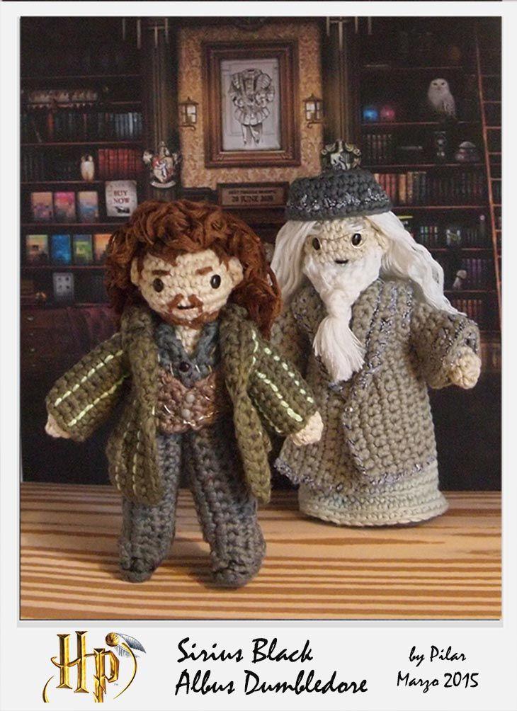 amigurumi Harry Potter, Dumbledore,Sirius | hogwarts diy | Pinterest ...