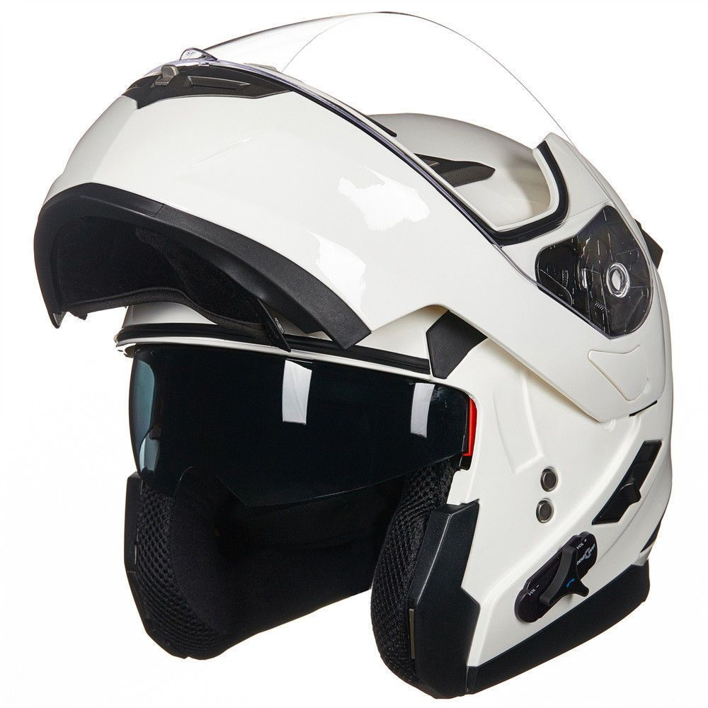 apparel Bluetooth Motorcycle Helmet Integrated Modular
