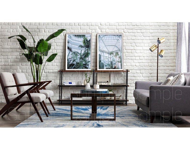 Zoom Backgrounds Backdrop Office Background Microsoft Etsy In 2020 Dark Gray Sofa Mid Century Living Room Gray Sofa Living