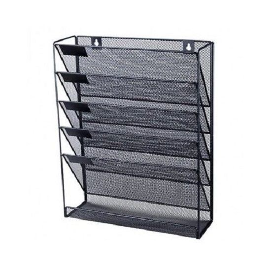 office files organizer wall mounted mesh a4 paper craft rack holder paperwork od