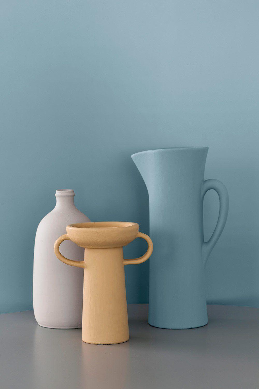 Les Nouvelles Couleurs De Peinture Leroy Merlin Vont Vous Faire Envie En 2020 Couleurs De Peinture Bleu Clair Couleur Mur Salon