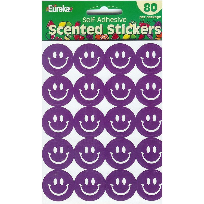 Stickers scented smiles grape
