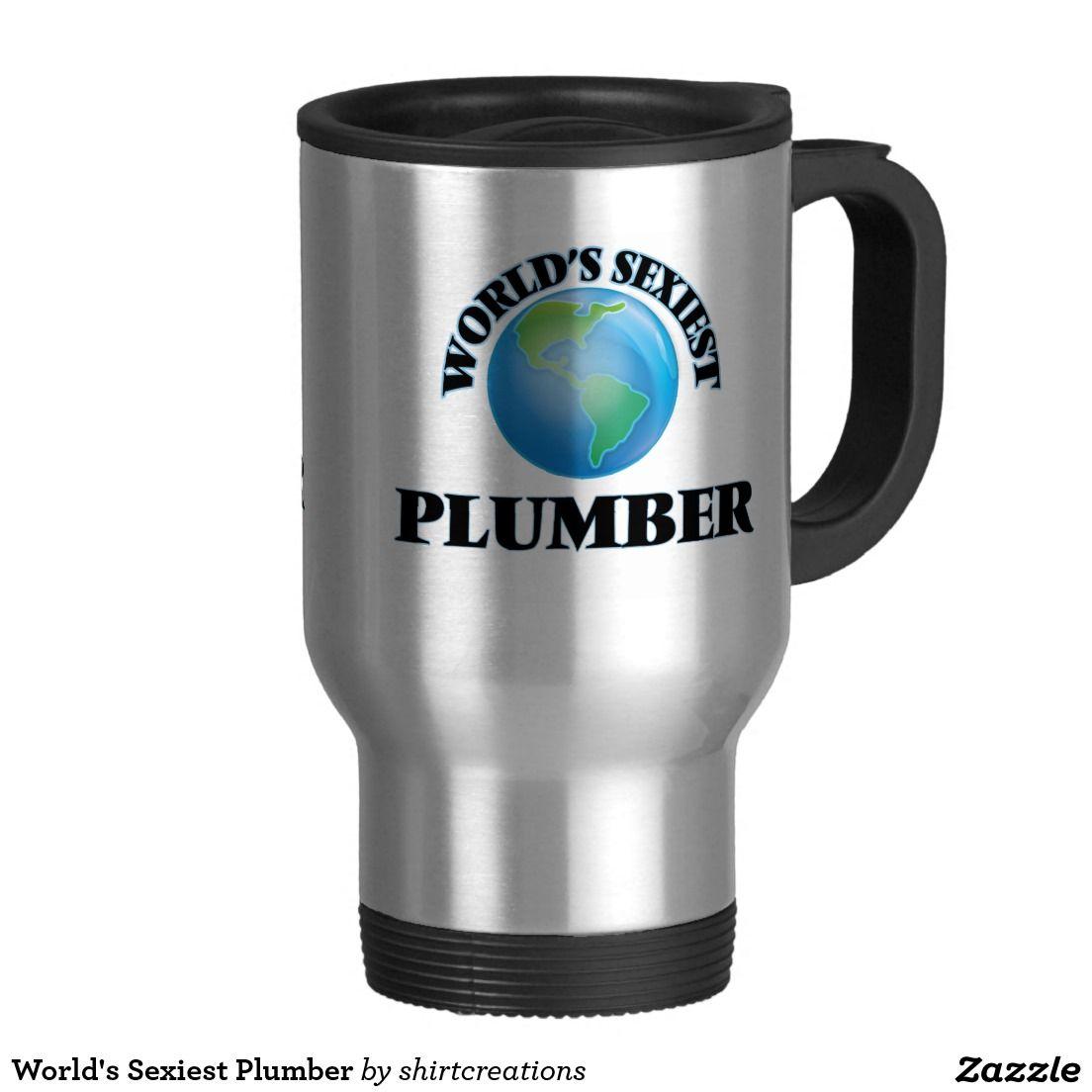 World's Sexiest Plumber Travel Mug
