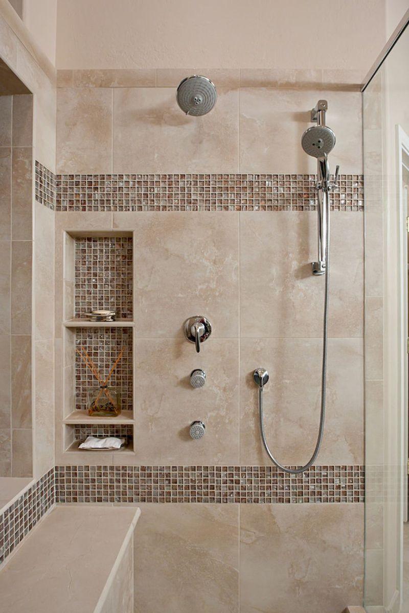 120 Stunning Bathroom Tile Shower Ideas (119 images