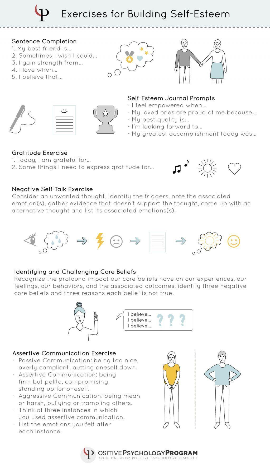 Communication Worksheets For Children Kids Self Esteem And