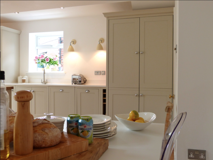 After, the engine room cupboard Kitchen living, Kitchen