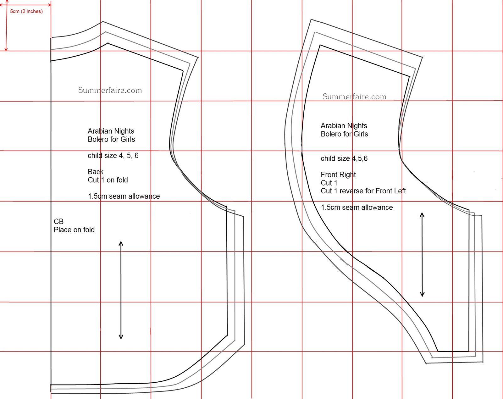 bolero jacket pattern - Google Search | Things I just \