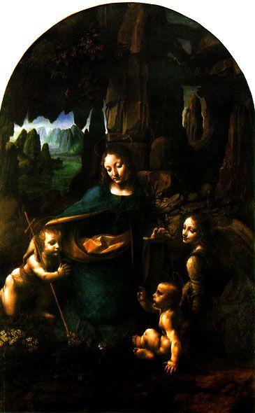 Leonardo da Vinci. Fotos: La Virgen de las Rocas