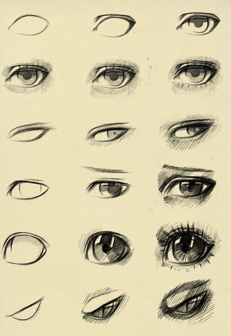 Eyes reference by ryky paint draw resource tool how to