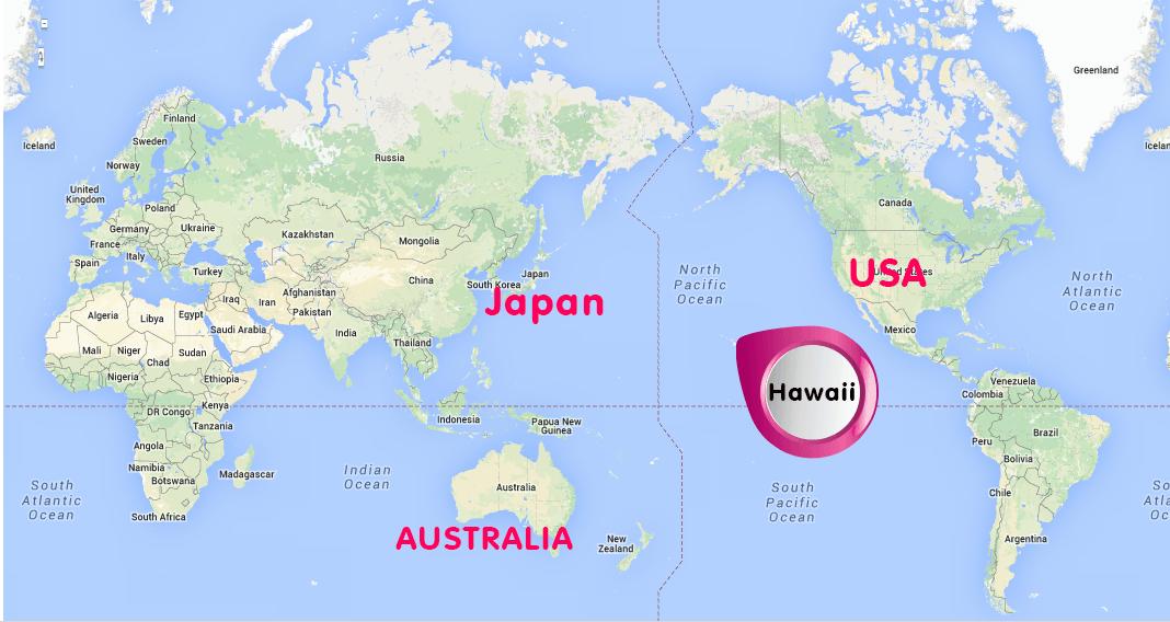 Where is Hawaii   Where is hawaii, Hawaii, Japan